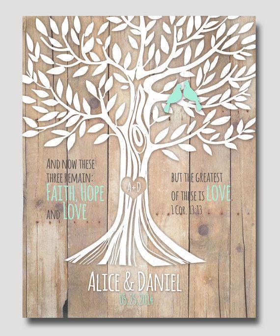 Printable 1 Corinthians 13:13 Love Family Tree by WordOfLove