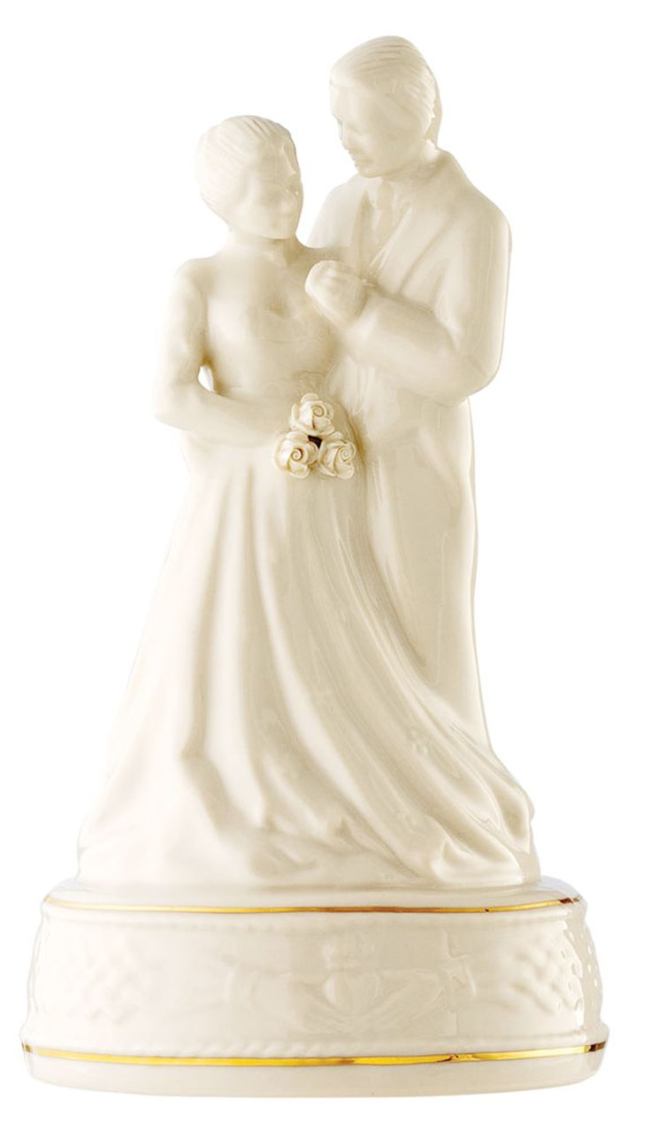 Claddagh Cake Topper - Belleek  Was €84.00 NOW €71.40