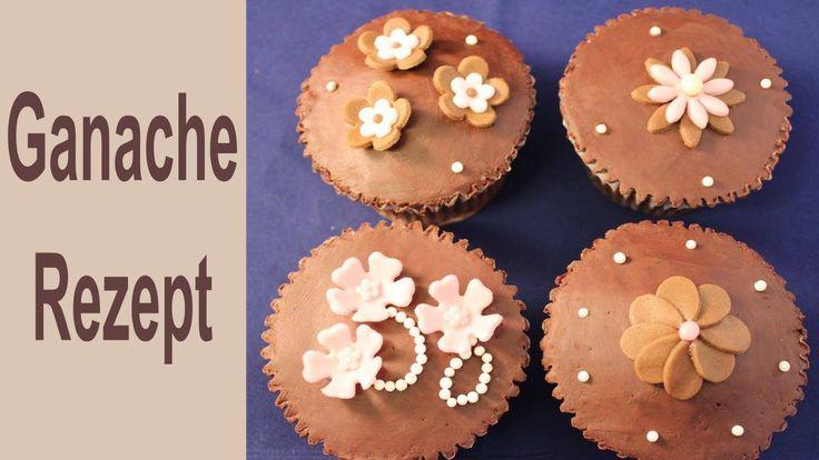 Ganache mit Zartbitter-Schokoladen Grundrezept - Herstellung, Verwendung, Aufbewahrung#Leonor's - YouTube