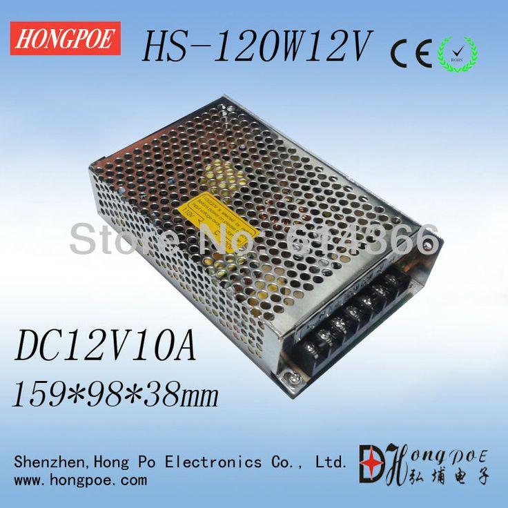 Новая программа, малый объем выключатель питания HS-120W 12V10A 159*98*38 мм