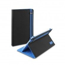 Etui Tablette 8 Pouces Muvit - Noir Bleu  23,99 €