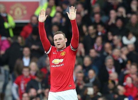 Rooney dan Perayaan Gol ala Petinju