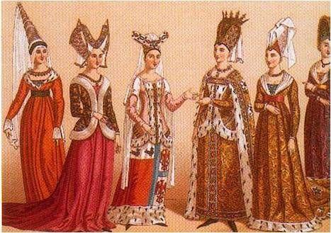 LUZ, RIQUEZA Y POBREZA Lujo en sus vestidos