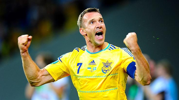 Anrity Shevchenko. Ukraine win over Sweeden 2-1