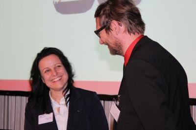 Herr Thorben Lang, Marketingleiter nutella, im Gespräch mit Nicole M. Pfeffer im Rahmen einer  Veranstaltung des Marketingclubs Frankfurt  Vielen Dank an Sabine Antonius für die gelungenen Schnappschüsse des Abends.