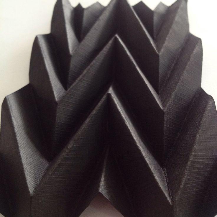 Paper folding #interior #architecture #folding #paper #linen