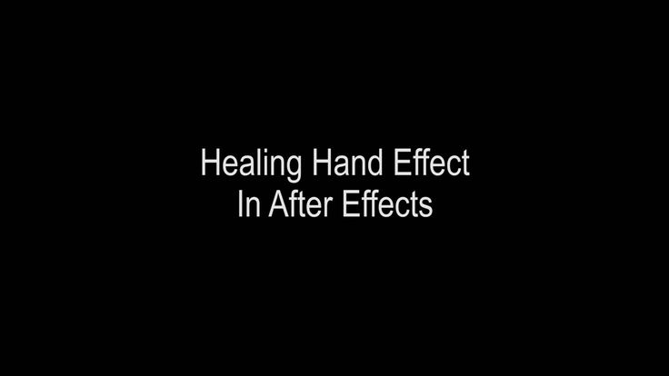 Healing Hand in After Effects