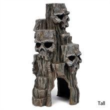 Skull Mountain Aquarium Ornaments