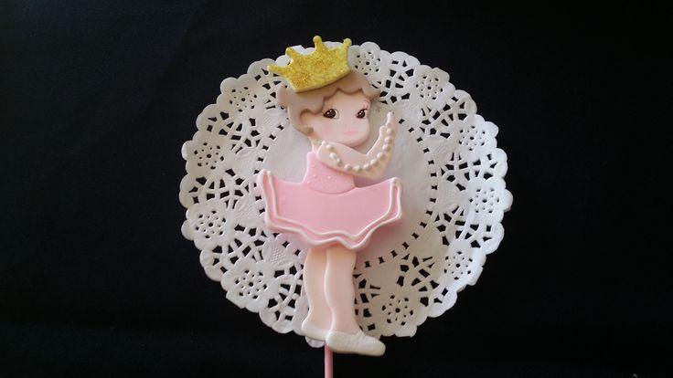 Ballerina Baby Shower, Ballerina Cake Toppers, Ballerina Birthday, Girls Baby Shower, Baby Ballerina Decorations