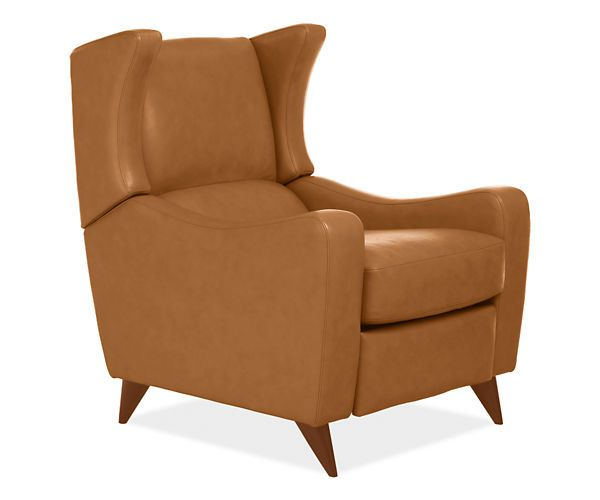 Juno Leather Recliner Recliners Amp Lounge Chairs Living
