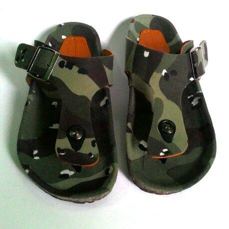 Camo Army T strap