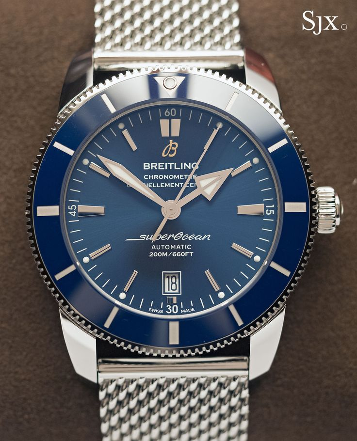 Hands-On with the Breitling Superocean Heritage II, Streamlined & Equipped with a Notable New Movement
