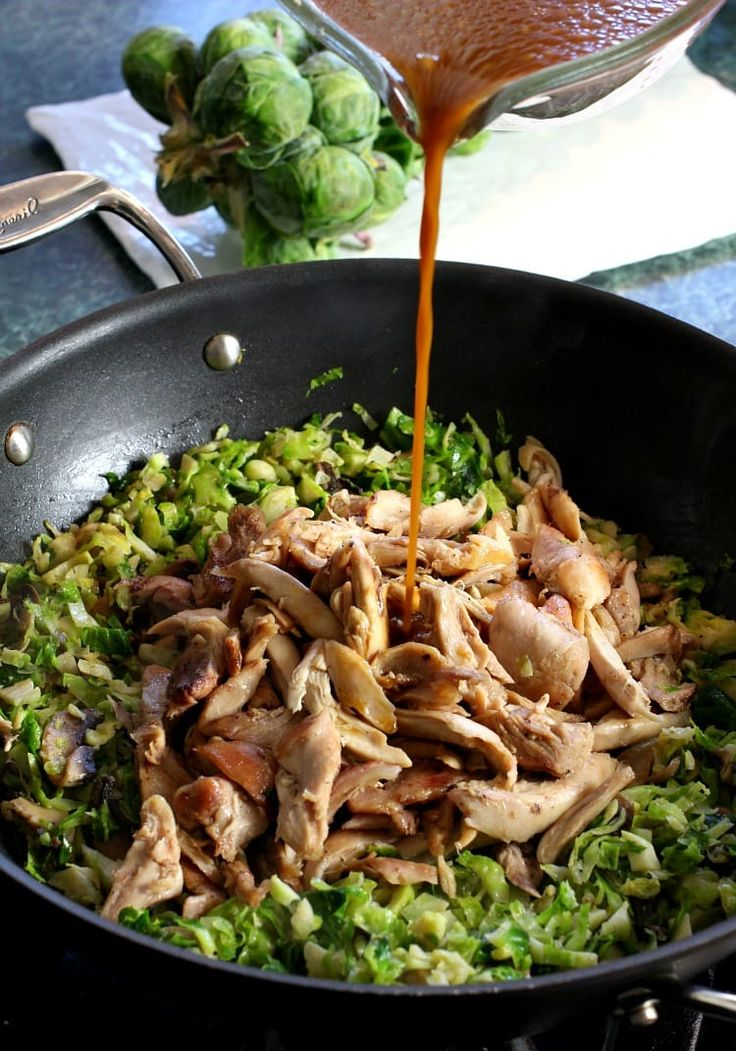 Asian Chicken and Brussels Sprouts will turn brussels sprout haters into lovers – and I know this for a fact. Right before the holidays I'm out shopping at the grocery store, just seeing what I can find. I'm always looking for anything interesting that different to cook up something with and there it was. A... Read More