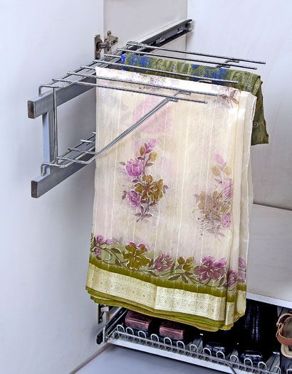This Can Be Used To Hang Sarees Storage Ideas Pinterest Storage Ideas Storage And Closet