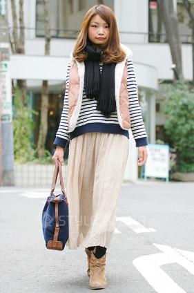 Daikanyama street style: nautical stripes