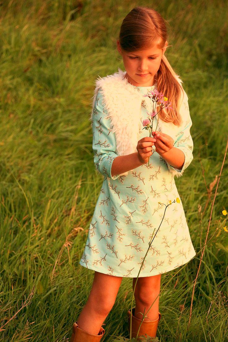 Soft Cactus: kleedje Patroon : Betoverend winterjurkje uit Femma Naaiboek