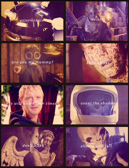 Phrases to strike terror into your heart: Timey Wimey, Madman, Doctorwho, Doctor Who, Doctors, Dr. Who, Mad Man