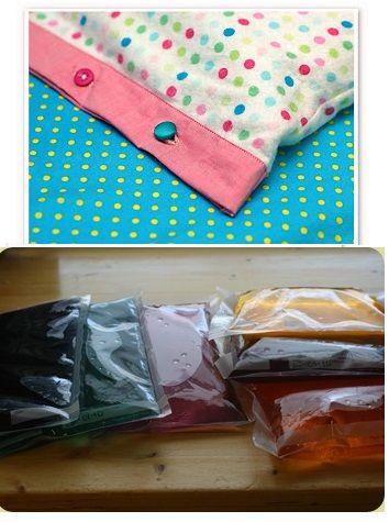 Homemade Ice Packs!