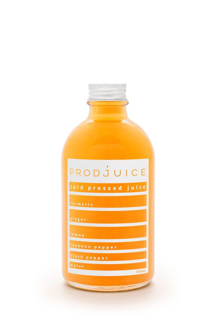 Turmeric tonic   Prodjuice www.prodjuice.com.au