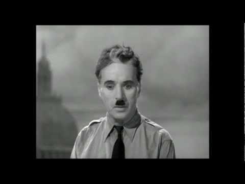 ▶ Der große Diktator – Charles Chaplins Rede an die Menschheit (4:36 Min.)