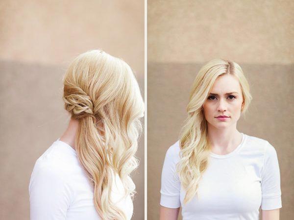 Romantische, seitlich gefegte Frisuren, die alle Augen auf Sie richten #Weddinghairstyles