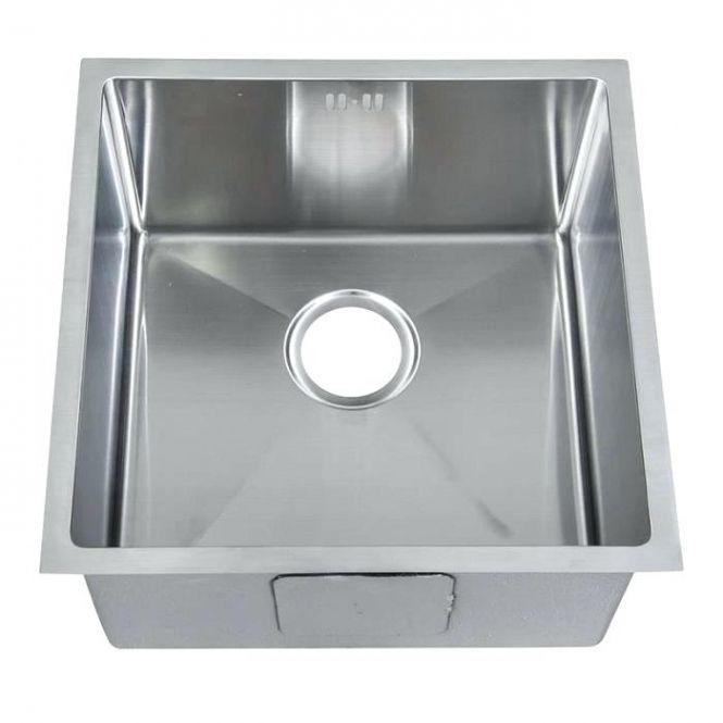 Evier Inox Un Bac Leroy Merlin Pearlfection Fr Throughout