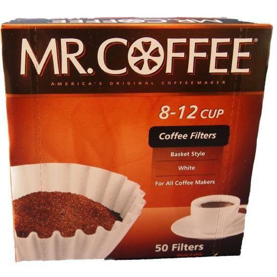 Mr. Coffee [ミスターコーヒー] 8から12カップ バスケットタイプ コーヒーフィルター50枚 メイドインUSA - IDEALi 並行輸入品専門店