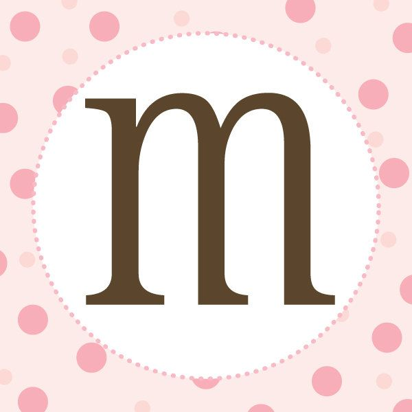 girl baby shower banner letters pink and brown With baby letters for baby shower