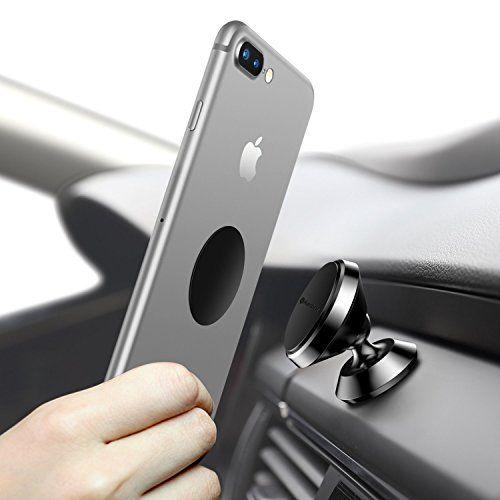 Universal Handyhalterung Auto Magnet, Humixx 360 °Einstellbare Smartphone Halterung Auto für iPhone 6 6s 7 7Plus, Samsung Galaxy S7 S8, HTC (Schwarz) #Universal #Handyhalterung #Auto #Magnet, #Humixx #°Einstellbare #Smartphone #Halterung #für #iPhone #Plus, #Samsung #Galaxy #(Schwarz)