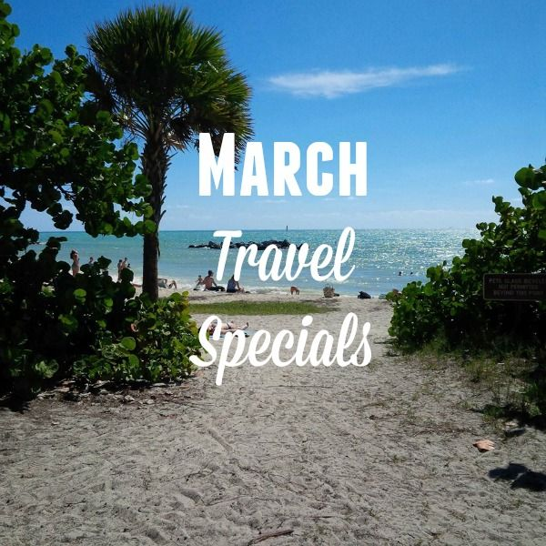 March Travel Specials