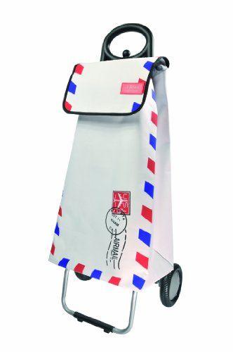 Les Artistes Paris A-0609 Designer Pull-Along Shopping Trolley Polyester: Amazon.co.uk: Kitchen & Home