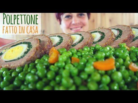 POLPETTONE RIPIENO FATTO IN CASA Ricetta Facile - Easy Meatloaf Recipe - YouTube
