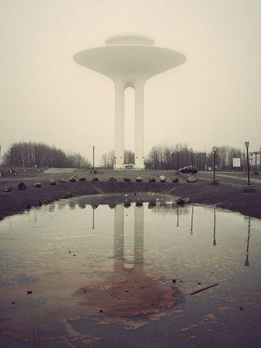 Водонапорная башня в Мальмё — dirty.ru