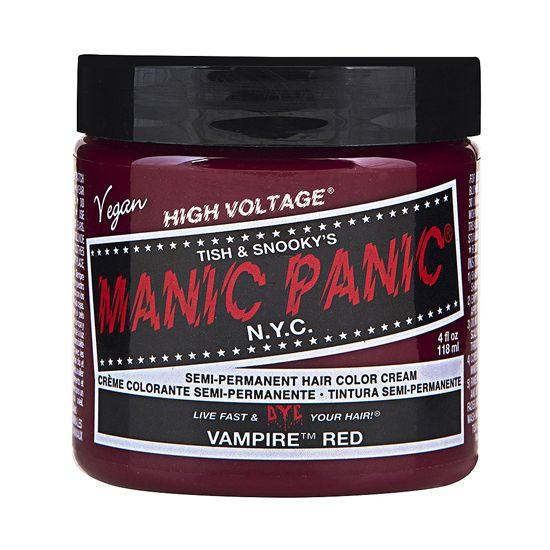Manic Panic High Voltage Classic Cream Hair Color Vampire Red 4oz