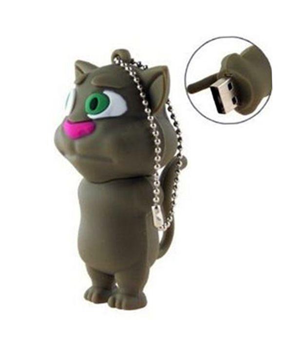 Microware 32GB Talking Tom Cat Shape Designer Pen drive, http://www.snapdeal.com/product/microware-32gb-talking-tom-cat/1015805467