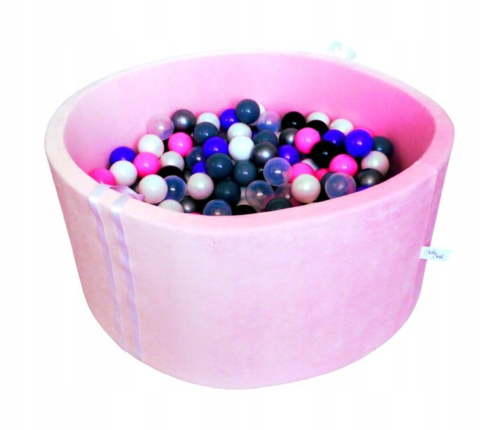 Suchy Basen Z Pilkami Kulkami Pileczkami 250 Szt Baby Ball Pool Balls Ball