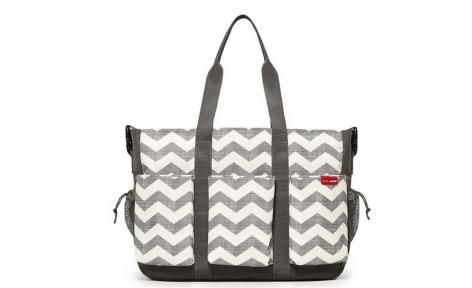 Chevron Duo Double hold it all Diaper Bag by Skip Hop