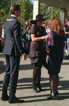Koningin Máxima bij opening Europees verpleegkundig congres over zorg voor ouderen