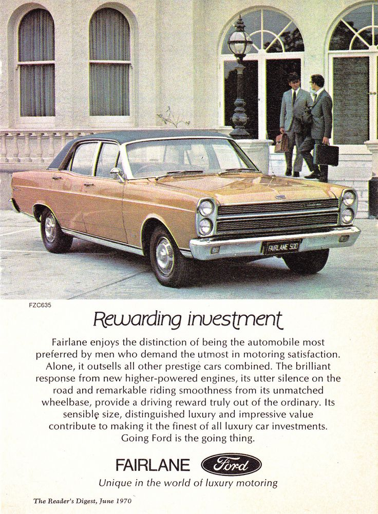 https://flic.kr/p/eXRnJ2 | 1970 ZC Fairlane By Ford Aussie Original Magazine Advertisement