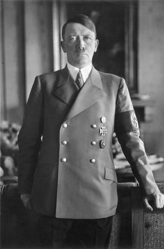 MAY 30 1938 Hitler prepares to move against Czechoslovakia A 1938 portrait of Adolf Hitler