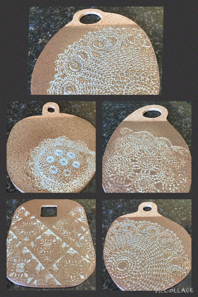 Ceramic cheese boards. Handmade by me. Px