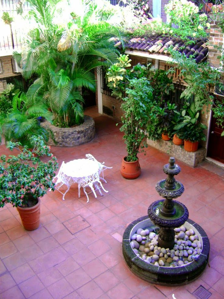 69 best I Want A Mexican-Style Patio! images on Pinterest ... on Mexican Backyard Decor id=57109