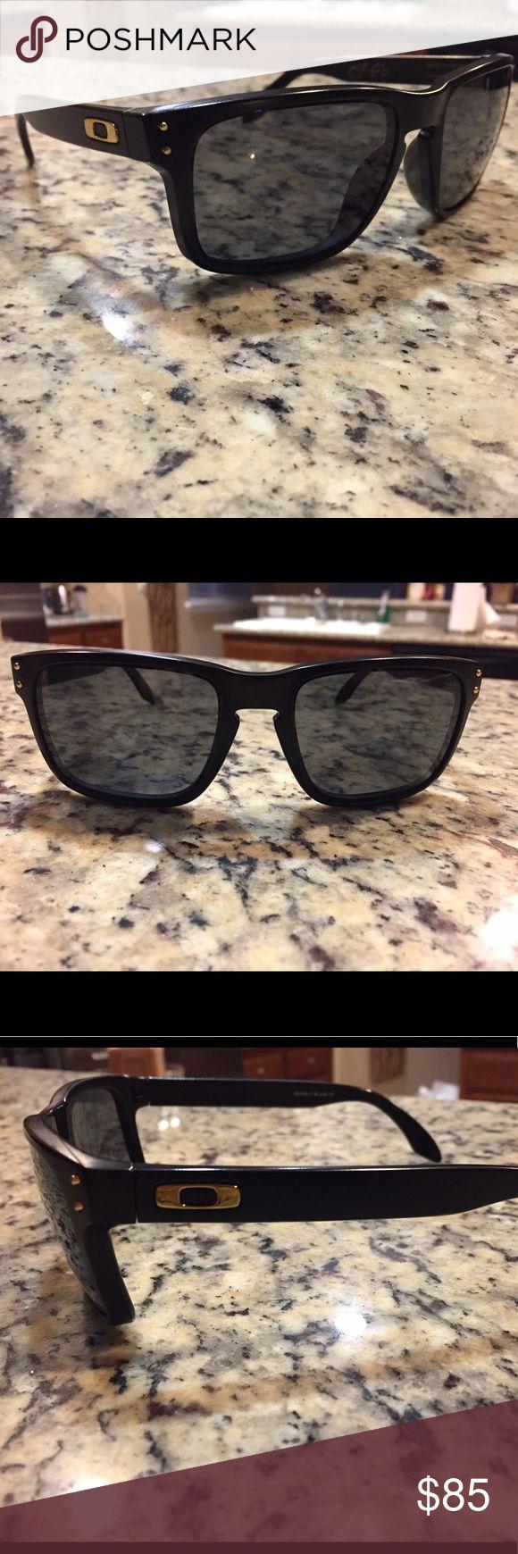 Sean White Oakley Sunglasses These matte black Sean White edition Oakley are in great condition! Oakley Accessories Sunglasses