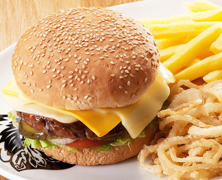 Three Cheese Burger: Emmenthal, cheddar and mozzarella. https://www.spur.co.za/menu/burgers/