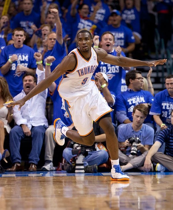 """Serge Ibaka """"Air Congo"""" Second Look: Game 4 Vs. Spurs"""