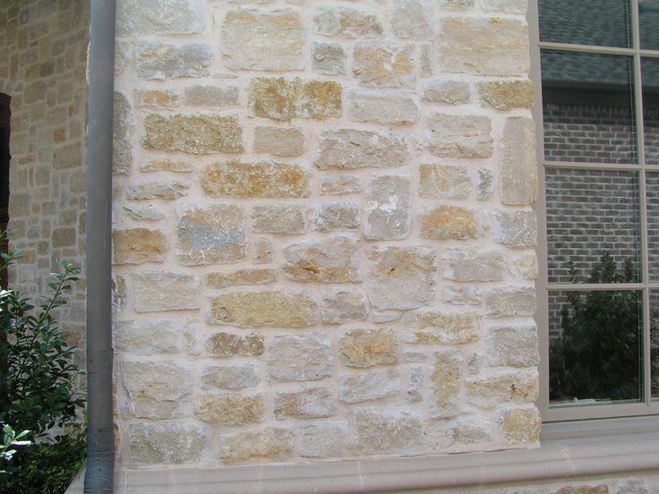 Thin Brick Veneer Stone Natural Thin Stone: Granbury Plum Natural Limestone Full Size Or Thin Veneer