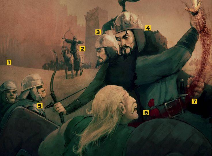 A ascensão e queda do conquistador Átila, o Huno