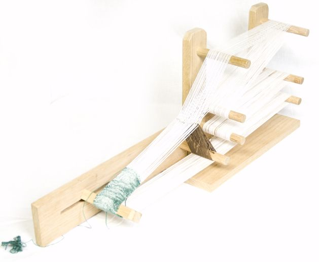 Not that I need any more hobbies or crafts to try.  But here's how to build an Inkle loom, and a link for a basic weaving project.  Kind of a mini-loom to do your own woven straps, belts, etc. on.