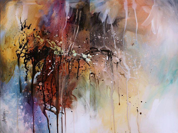 Abstract Painting - Abstract Design 80 by Michael Lang