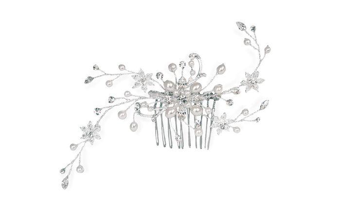 Delicate Bridal hair combs @ Mia Sposa Huddersfield 01484421900